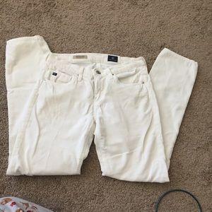 AG corduroy straight jeans